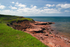 North coast of PEI Royalty Free Stock Images
