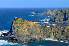 North coast of Portugal Stock Images