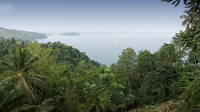 North coast of Principe Island, Sao Tome and Principe, Africa Stock Images