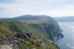 North coast sea of Okhotsk Royalty Free Stock Image