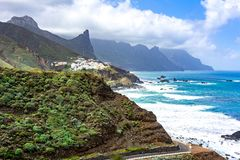 North coast of Tenerife, Canary islands, Spain stock photography