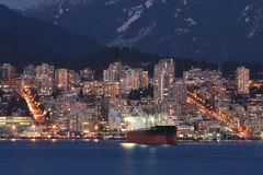 North Coastal Cityscape royalty free stock images