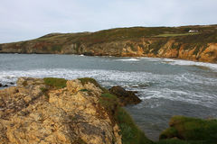 North coastline of  Anglesey, Wales Royalty Free Stock Photo