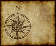 North compass map arrow Stock Photo