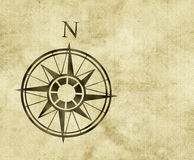North compass map arrow Stock Photography