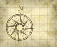 North compass map arrow Royalty Free Stock Image