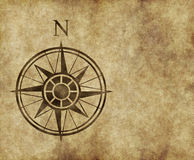 North compass map arrow Stock Images