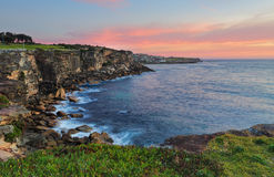 North Coogee headland at sunrise Stock Images