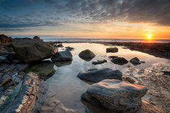 North Cornwall Coast Royalty Free Stock Photos