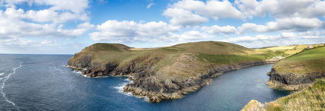 North Cornwall Coast Royalty Free Stock Photography