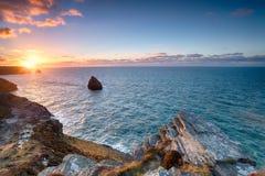 The North Cornwall Coastline Stock Photos