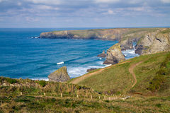 North Cornwall coastline England Stock Photography