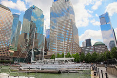 North Cove Marina At Battery Park NY. Royalty Free Stock Photos