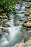 North Creek - Wild Mountain Trout Stream - 3. North Creek is a popular wild mountain trout stream located in Botetourt County, Virginia, USA Stock Photos
