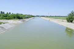 North Crimean Canal Royalty Free Stock Photography