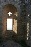 North cyprus castle. Beautiful nature is our precious property Royalty Free Stock Photos
