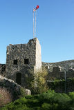 North cyprus castle. Beautiful nature is our precious property Royalty Free Stock Photo