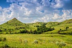 North- Dakotaödländer Stockbilder