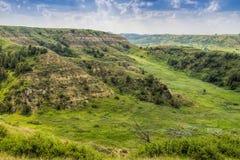 North- Dakotaödländer mit üppigen Wiesen Lizenzfreie Stockbilder