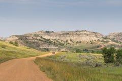 North Dakota Badlands Arkivbild