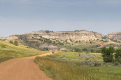 North Dakota Badlands Stock Photography