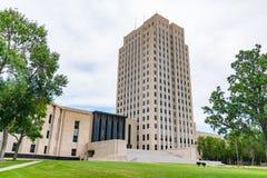 North Dakota huvudbyggnad arkivbild