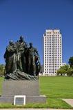 North Dakota huvudstadjordning arkivfoton