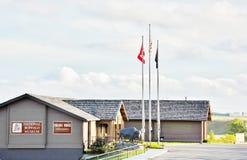 North dakota national buffalo museum Stock Images
