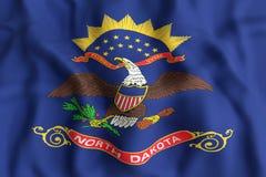 North Dakota State flag Stock Images
