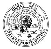North Dakota State Seal Royalty Free Stock Photo