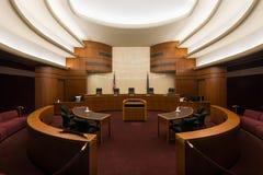 North Dakota Supreme Court. In the State Capitol in Bismarck, North Dakota Royalty Free Stock Image