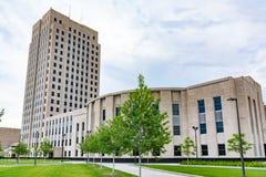 North- Dakotahauptgebäude lizenzfreie stockfotografie
