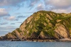 North Devon coast near the city Ilfracombe royalty free stock photo