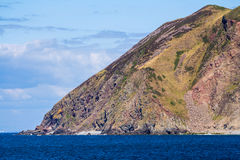 North Devon Coast near the villages of Lynton and Lynmouth Royalty Free Stock Photo