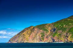 North Devon Coast near the villages of Lynton and Lynmouth Royalty Free Stock Image