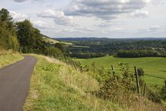 North Downs countryside. Dorking. UK Stock Photos