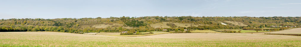 The north downs in kent Royalty Free Stock Photography