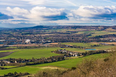 Kent countryside maidstone uk north downs Stock Image