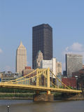 North Downtown Pittsburgh #2. A View of The Northern Side of Downtown Pittsburgh Stock Images