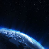 North of Earth Royalty Free Stock Photo