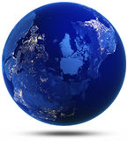 North of Earth modified reflected 3d render Royalty Free Stock Photography