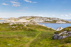 North-east coast of Finnmark in Norway Royalty Free Stock Photography
