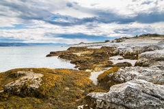 North-east coast of Finnmark in Norway Royalty Free Stock Photos