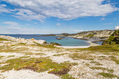 North-east coast of Finnmark in Norway Royalty Free Stock Images