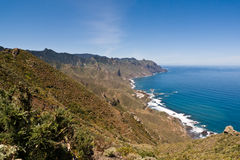 North east coast of Tenerife Stock Images