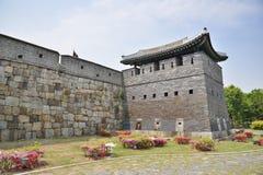 North-East GunTower of Suwon Hwaseong, called Bukdongporu Stock Image