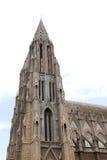 North eastern tower of St. Philomena's Church Stock Photo
