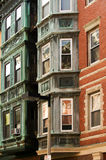 North End architecture. Typical building of historical North End, Boston royalty free stock image