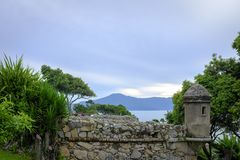North end of the island of Florianopolis Santa Catarina Brazil  royalty free stock image
