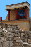 North Entrance of Knossos Palace Royalty Free Stock Photos